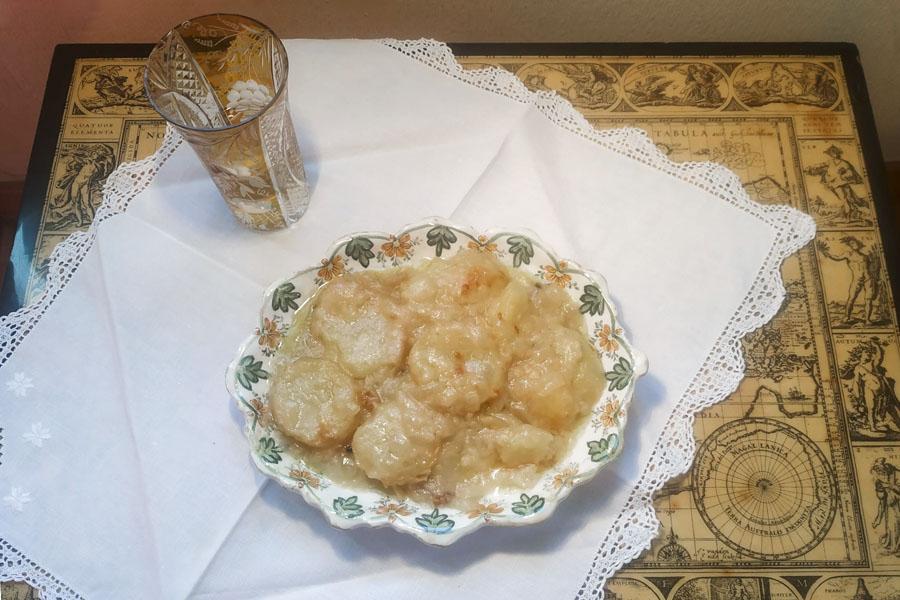 receta de patatas con leche