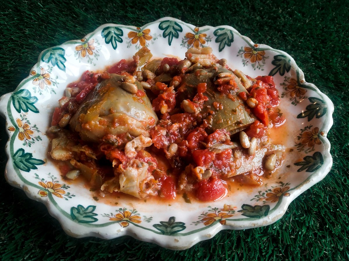 receta alcachofas de susana