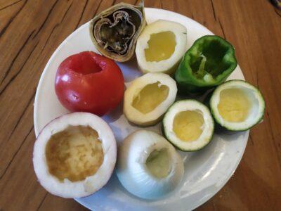 Verduras rellenas 1